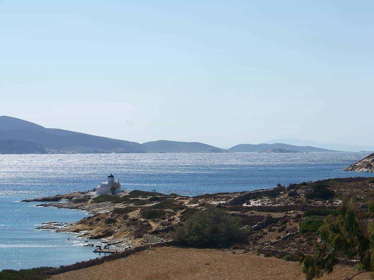 The church of Agios Panteleimonas-Amorgos
