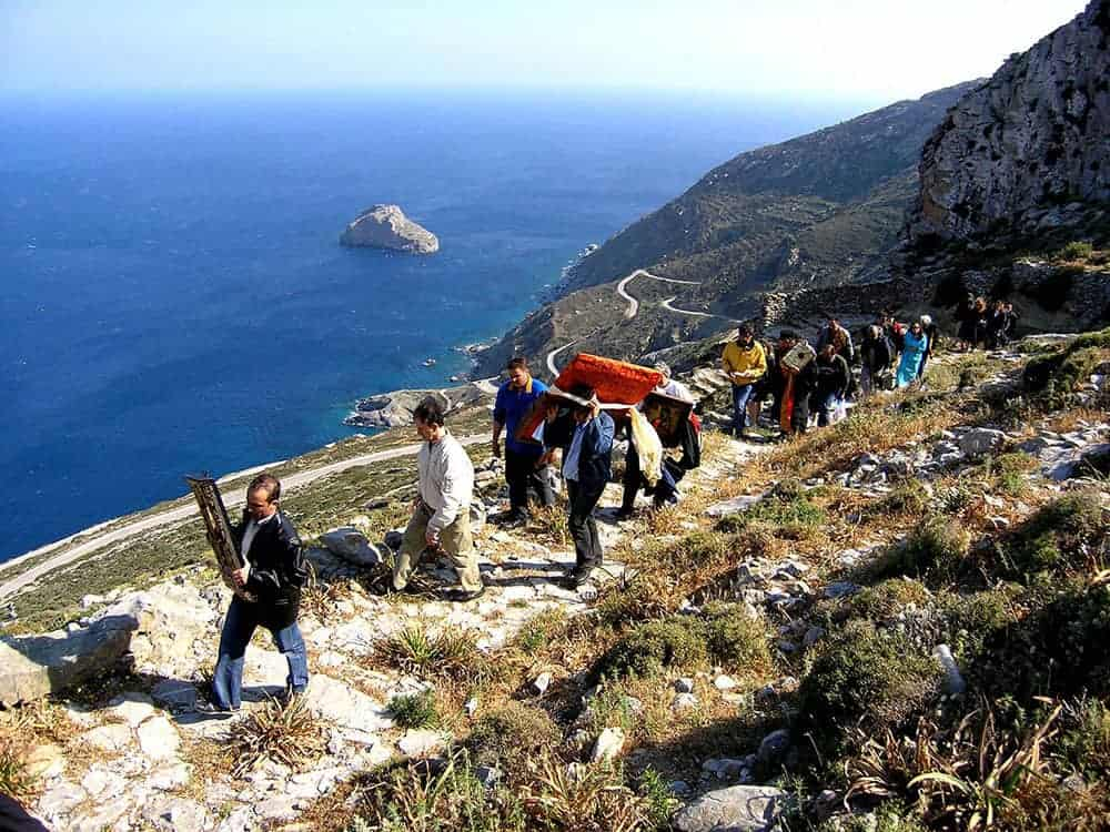 easter on amorgos